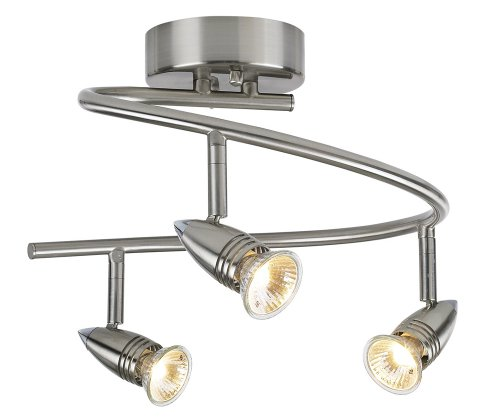 Pro Track 150 Watt Three Light Spiral Ceiling Light