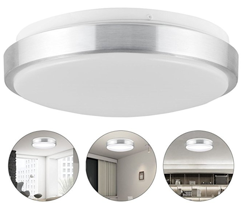 LEDGLE 13W LED Ceiling Lamp Round Ceiling Lights, Equal To