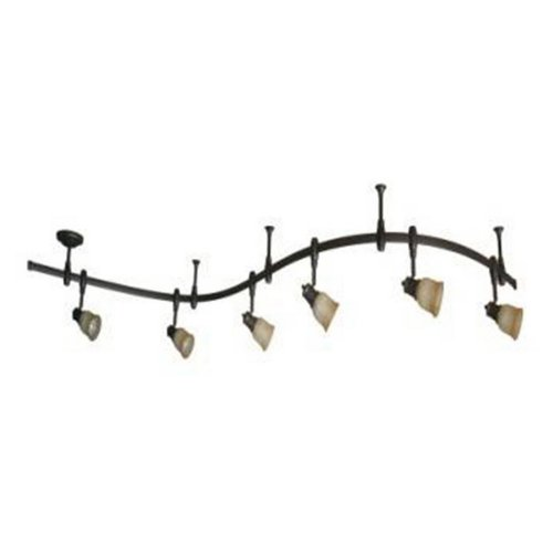 Portfolio 6 Light Bronze Decorative Flexible Track