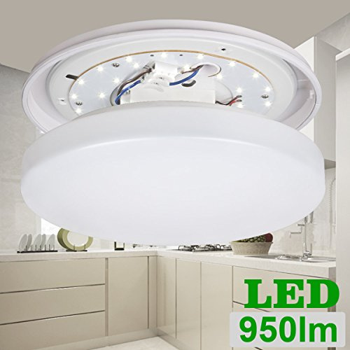 Le 174 12w 11 Inch 6000k Led Ceiling Lights 100w Incandescent 22w Fluorescent Bulb Equivalent