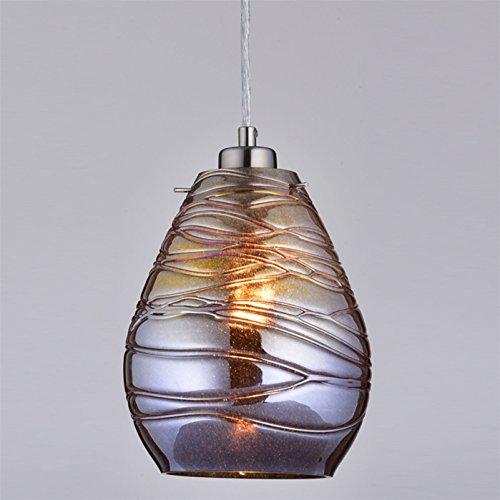 Claxy® Ecopower Kitchen Antique Mercury Glass Pendant
