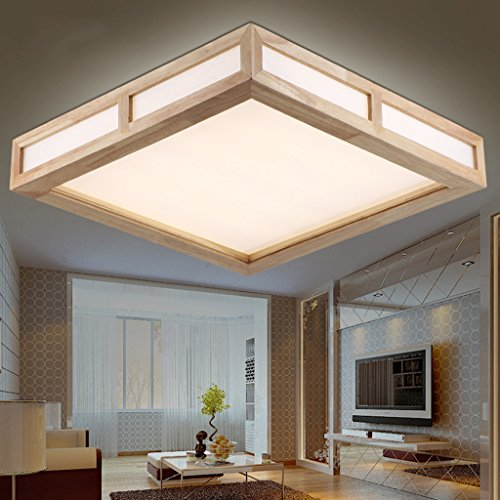 Kitchen Ceiling Lighting Design: Electro_BP;Modern Simple Wood Art Ceiling Lights Acrylic LED Flush Mount Light Max 18W With LED