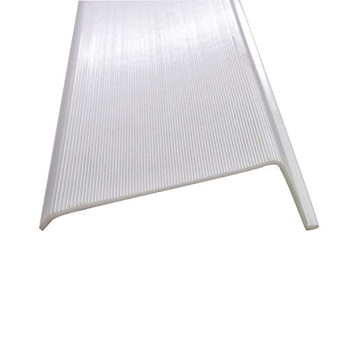 21 Inch Under Cabinet Diffuser White Ribbed Replacement